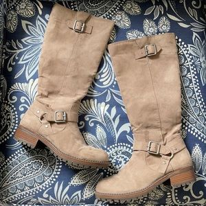 Kenneth Cole tough bet suede calf boots